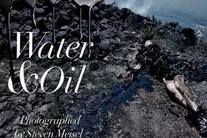 The Vogue Italia and Steven Meisel 'Water & Oil' Spread is Disturbing