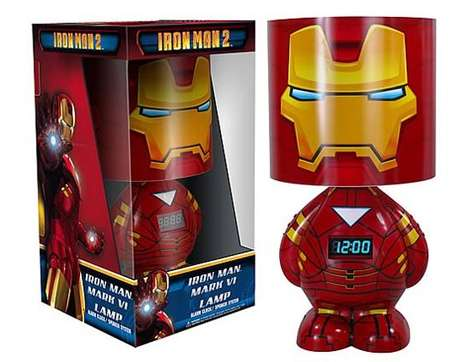Funko Iron Man 2 Clock Lamp