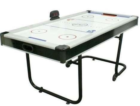 Space Saving Air Hockey
