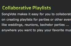 Crowdsourced Party Playlists