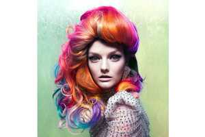 From Chameleon Couture Shoots to Rainbow Hairtography