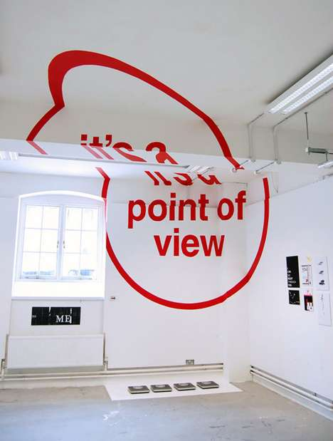 Anamorphic Typography by Joseph Egan and Hunter Thomson