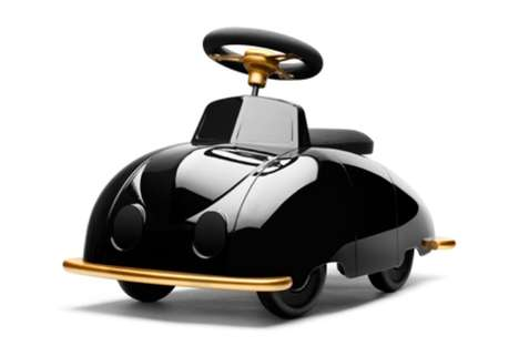 Luxurious Kids Cars - The Playsam Saab Roadster Comes With Its Own Chauffeur