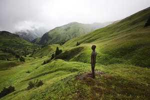Antony Gormley Installation Takes to the Austrian Alps