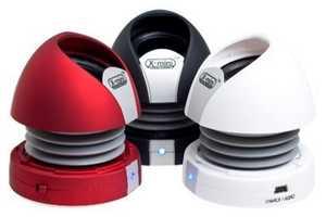 X-Mini Max II Capsule Speakers Boast Sound Quality & Small Size