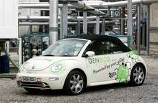 Poop-Powered Cars - The Bio-Bug Car Uses Human Waste Produced From Sewage Works