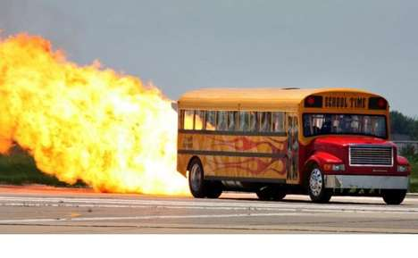 The School Time Jet-Powered School Bus