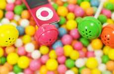 Lollipop Sound Systems - Monodo Candy Speaker Lets You Listen to Sweet Music