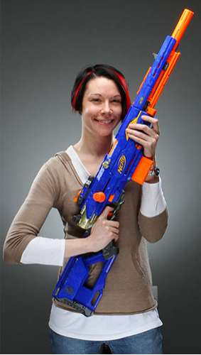 NERF Longstrike Sniper Rifle