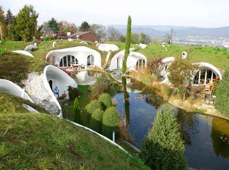 Hobbit Hideaways - This Swiss Cluster of Houses Belongs in 'The Lord of the Rings'