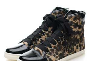 The Lanvin Leopard Print Hi-Tops Will Have You Questioning High Heels