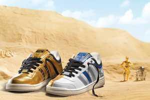 Adidas Originals and Star Wars Fall/Winter 2010 'R2-D2 + C-3PO'