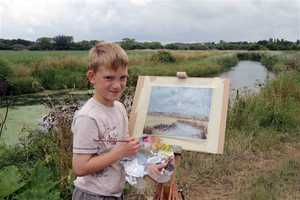 Britain's 'Mini Monet' Kieron Williamson is Eight Years Old