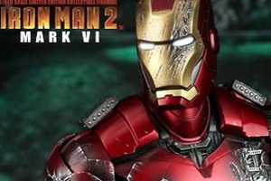 The Hot Toy Iron Man Mark VI Action Figure is a Must-Have for Collectors