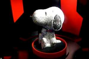 The Diamond Snoopy Celebrates 'Peanuts' 60th Year