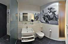 Car-Centered Hotels - The V8 Hotel in Stuttgard has Auto-Themed Accommodations