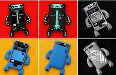 Robotic Phone Cases - The Nugo Labs Robotector for iPhones & iPods is as Fierce as it Looks