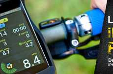 Calorie-Tracking Bike Apps - The LiveRider Device Connects Your iPod to Your Bicycle
