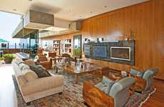 Wooden Block Homes - The Wells Fargo House in Malibu Colony is Lumber Luxe