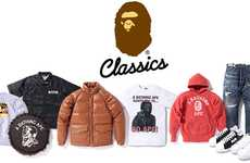Decade Celebratory Collections - The Bape Classics Fall Line Features Signature Pieces
