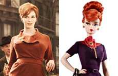 Dieting TV Dolls - The Christina Hendricks Joan Barbie Doll is Not Lifelike