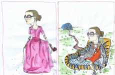 Fashionable Charicatures