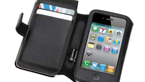 Versatile Phone Holders - The Griffin Elan Passport Wallet iPhone 4 Case is a Handy Carrier