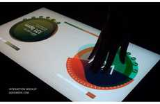 Touchscreen Turntables - The Multi Touch Light Table by Gregory Kaufman is Incredible