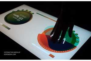 The Multi Touch Light Table by Gregory Kaufman is Incredible