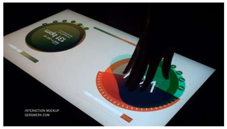 Multi Touch Light Table by Gregory Kaufman