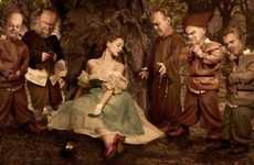 Creepy Heroine Photography - Matt Hoyle's 'Fairy Tales' Takes a Realistic Approach to Classic Storie