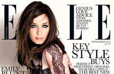 Lace Vixen Pictorials - The Emily Blunt Elle UK Spread is Hot