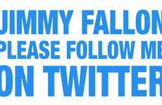 Celeb Follow Requests - The 'Jimmy Fallon Please Follow Me on Twitter' Video