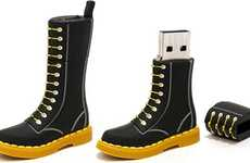 The Limited Edition Dr. Martens Boot USB Drive for the 50th Anniversary