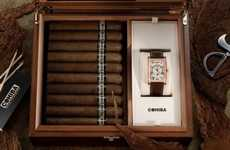 Smoking Hot Watch Collaborations - Cohiba & Frederique Constant Create Addictive Timepieces