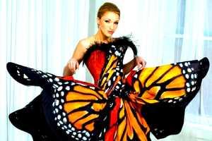 The Luly Yang Butterfly Dress from Seattle is Lifelike