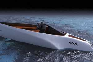 The Solar-Powered Concept Boat by Novague Studio
