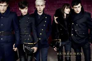 The Burberry Prorsum FW 2010 2011 Campaign is Super Hot