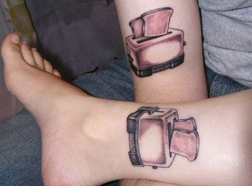 Twosome Toaster Inking