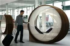 Airport Relaxation Pods - Obsideon from Roger Kellenberger Offers Weary Travelers a Place to Rest