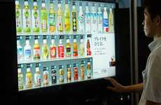 Touchscreen Vending Machines - The aCure Vending Machine Debuts in Japan