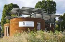Cylindrical Solar Homes