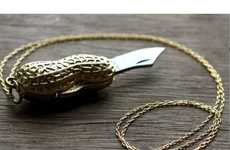 From Nutty Pendant Knives to Cell Phone Pistols