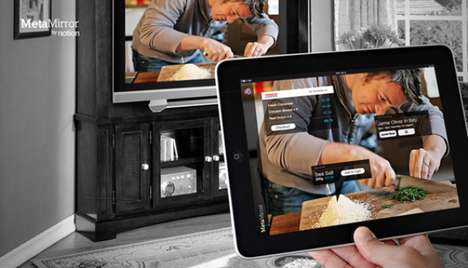 Augmented Reality Television Apps - The Metamirror Takes TV to the Next Level