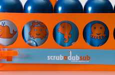 Submarine Bathing Toys - Your Kid Will Have Fun with the 'Scrubadub Sub'