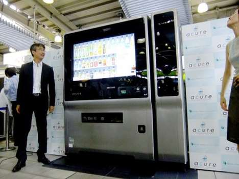 Smarty Pants Vending Tech - The Intelligent Vending Machine Puts Knowledge to Good Use