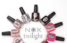 Movie-Inspired Lacquers - The Nox Twilight Nail Polish Series is Mysterious and Vibrant