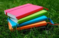 Vibrant Eco-Friendly Workbooks - The Ecosystem Notebooks House 100% Recycled Paper