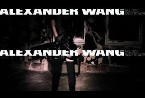 Alexander Wang Fall 2010 Video Ad Campaign