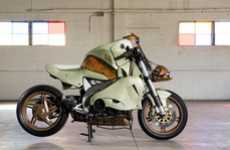 Volcano-Inspired Motorcycles - Project Somma 2010 Was Modeled After Mount Vesuvius